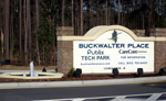Buckwalter Place Entrance